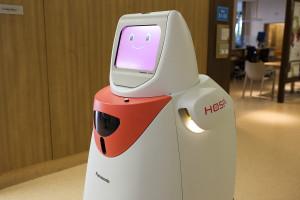 panasonic, hospital robot, singapore
