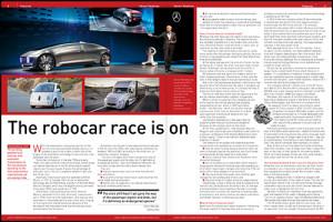 Sensor Readings – automatic transmission and autonomous road vehicles feature