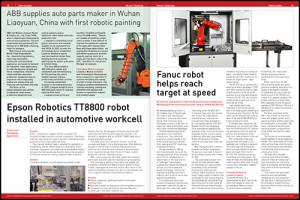 Sensor Readings – robotics case studies