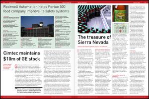 sensor readings magazine, automation case studies