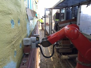construction robotics, semi-autonomous masonry system