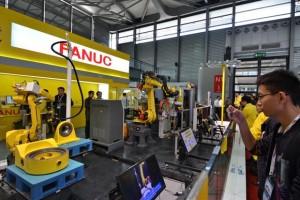 fanuc, industrial robots