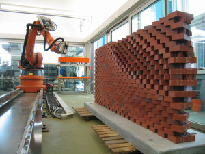 bricklaying robot, eth university, gramazio kohler research