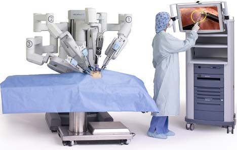 intuitive surgical, da vinci, robot-assisted surgery