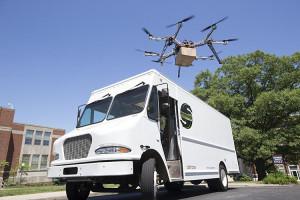 usps, workhorse, drones, horsefly
