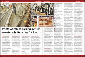 Invata Lindt warehouse automation