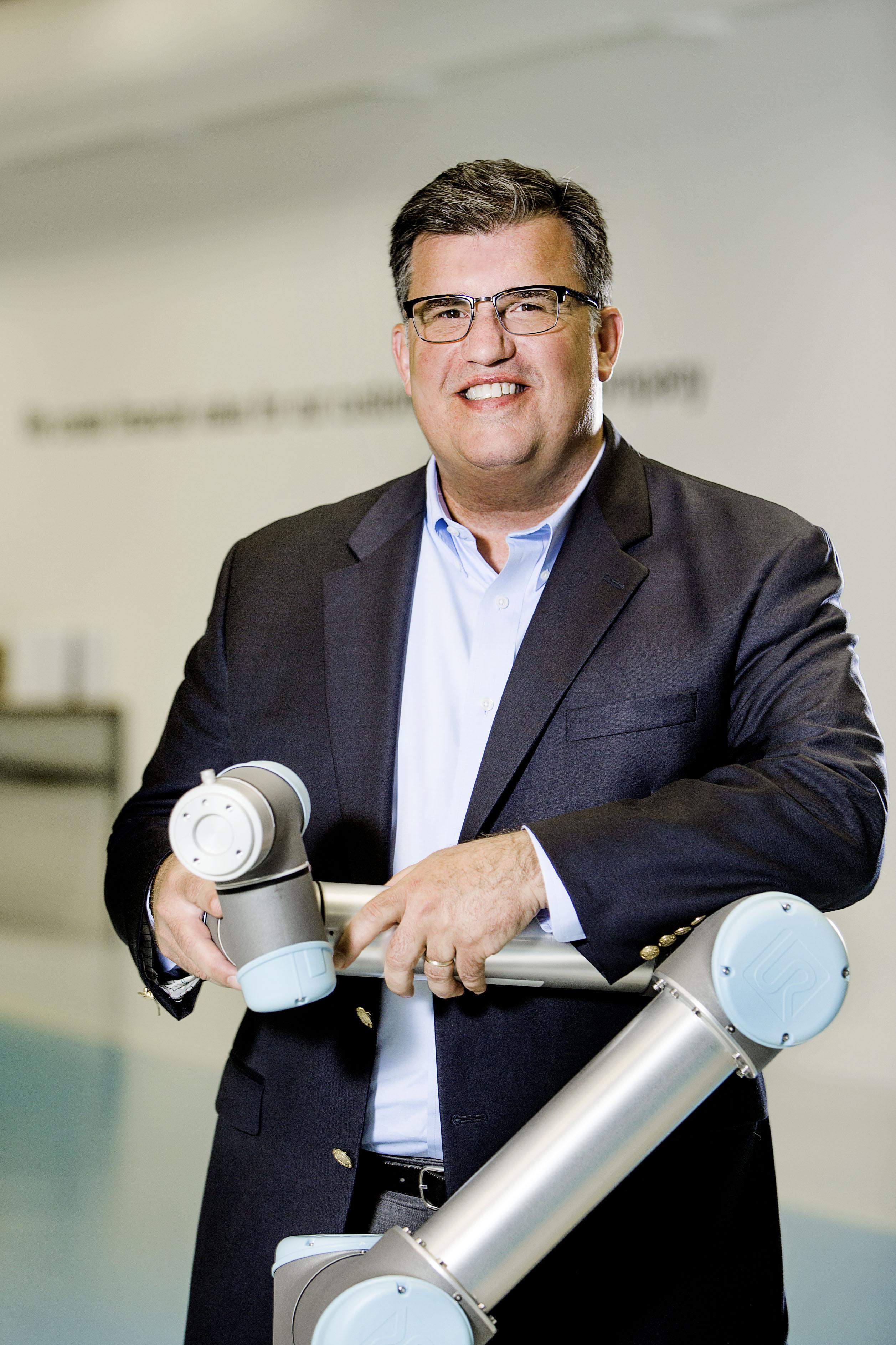 Scott Mabie, general manager, Americas division, Universal Robots