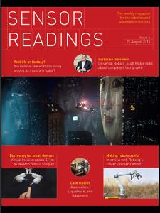 Sensor Readings issue 6