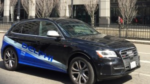 delphi, self-driving cars