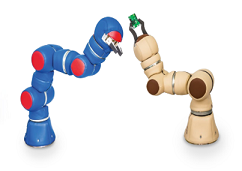 F&P Robotics' P-Rob 1R and P-Rob 1U