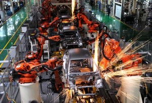 Geely-Volvo factory in Hangzhou, China. (Xinhua)