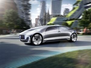 Mercedes-Benz autonomous concept car