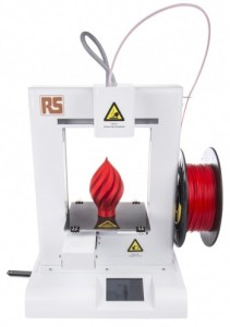 The IdeaWerk Pro 3D printer from RS Components