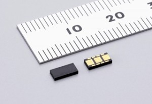 murata, surface mount MEMS angular acceleration sensor
