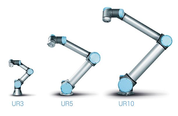 The three robots that Universal makes