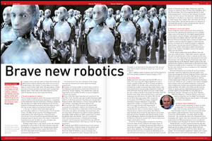Future of robotics by Frank Tobe of Robot Report