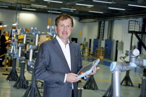 Enrico Krog Iversen, CEO of Universal Robots
