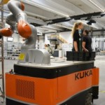 Kuka streamlines own logistics processes