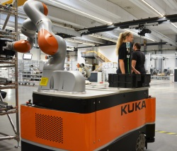 Kuka streamlines own logistics processes