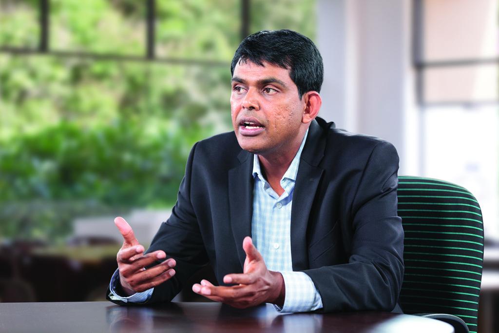 Abdul Razack, SVP of platforms, big data and analytics at Infosys
