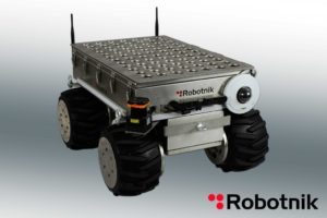 The Robotnik Steel Summit XL mobile robotic vehicle