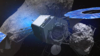 nasa robot asteroids