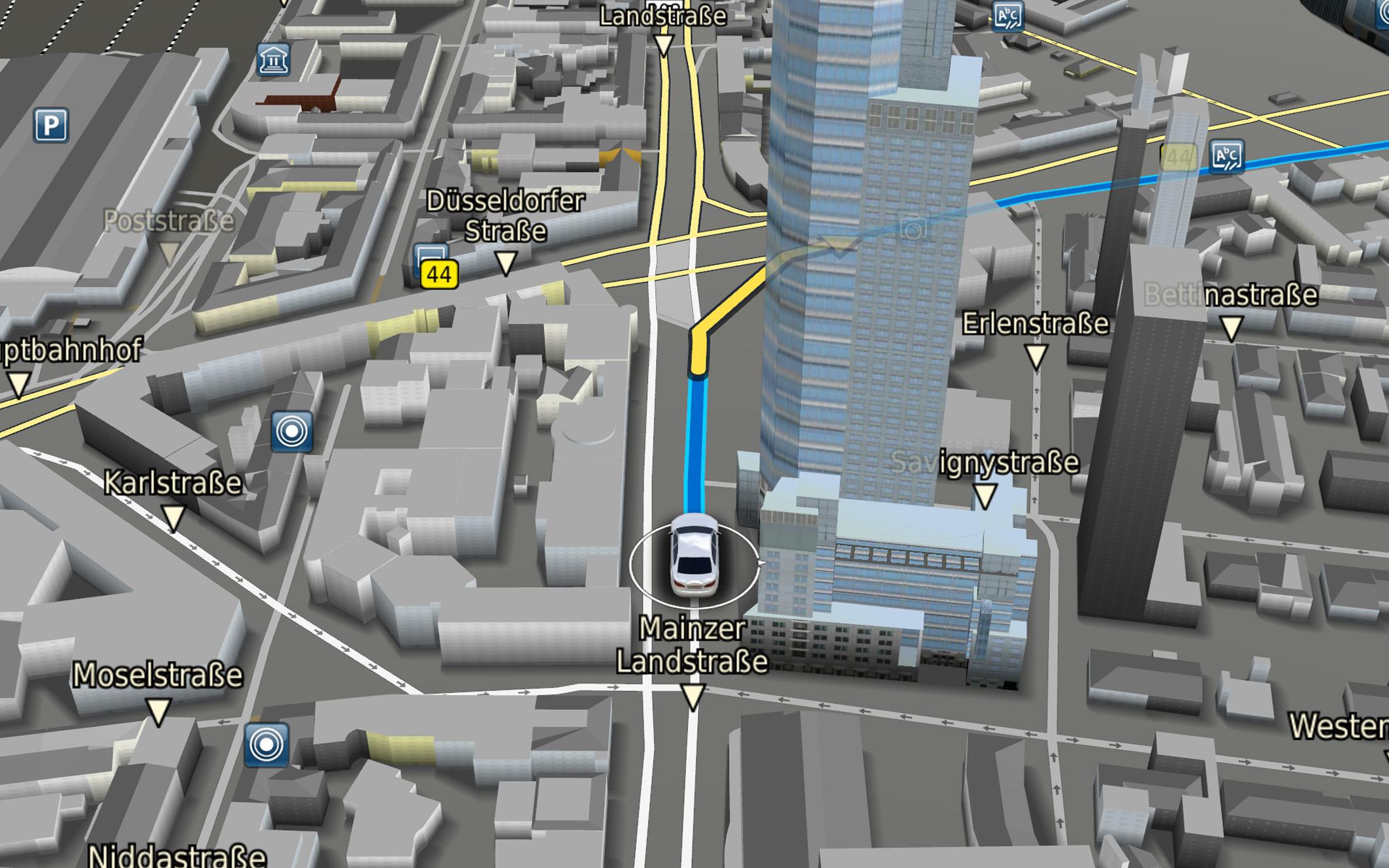 bosch, 3d map, mavigation