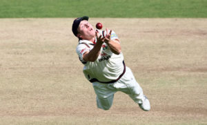 Prof Reed's post-doctoral work was on the science behind how a cricket fielder knows where and how fast to run in order to be in the right place at the right time to catch a ball hit high in the air