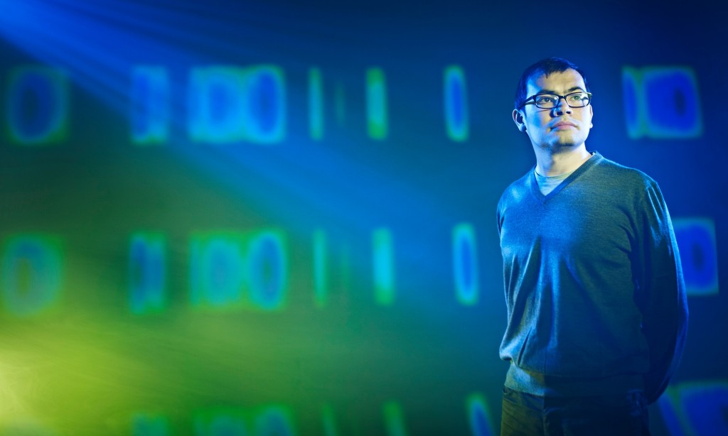 Demis Hassabis. Photograph: David Ellis for Google