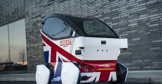 UK hits the road with autonomous vehicles