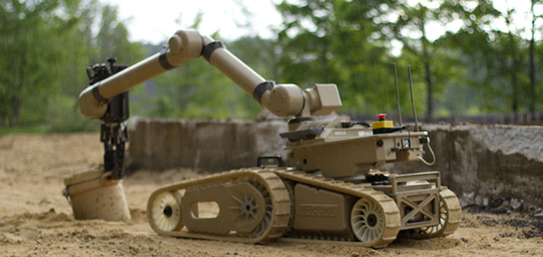 irobot defence robots