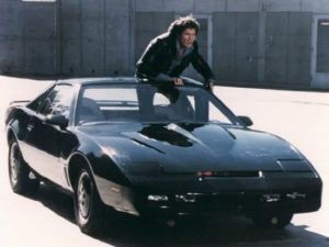 The Trans-Am car that was used as KITT, an autonomous car in a 1980s television show