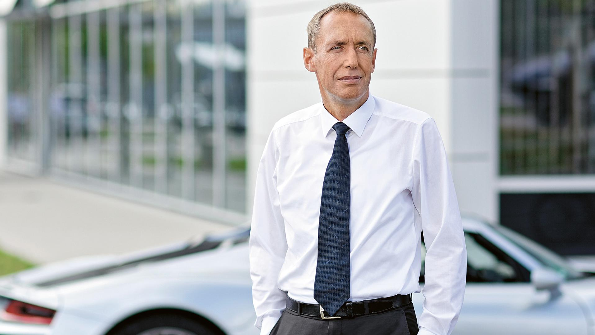 Dirk Lappe, technical director, Porsche