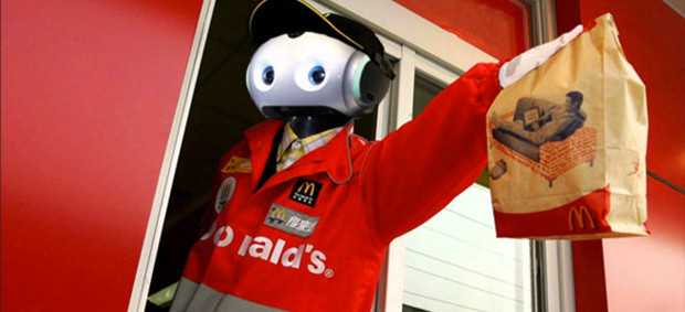 Do you want chips with that? How robots are threatening millions of fast food jobs