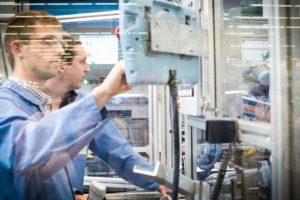 siemens robotic electronics factory