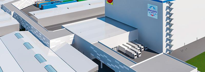 Schaefer to build logistics centre for beverages giant
