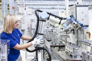 Universal Robots collaborative robot. Picture: courtesy Robotiq