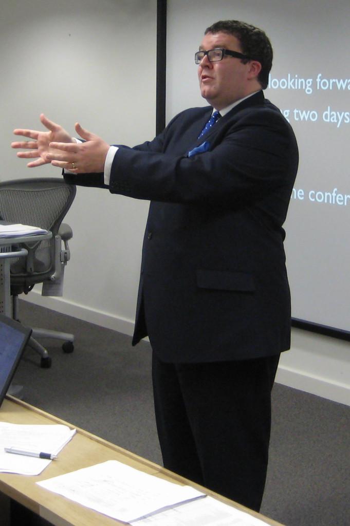Labour Party deputy leader Tom Watson