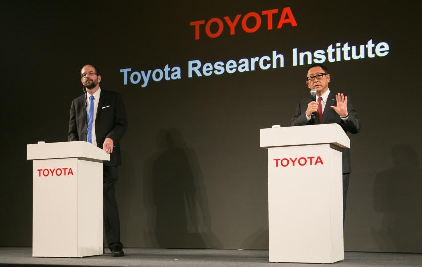 Toyota Research Institute expands autonomous vehicle development team