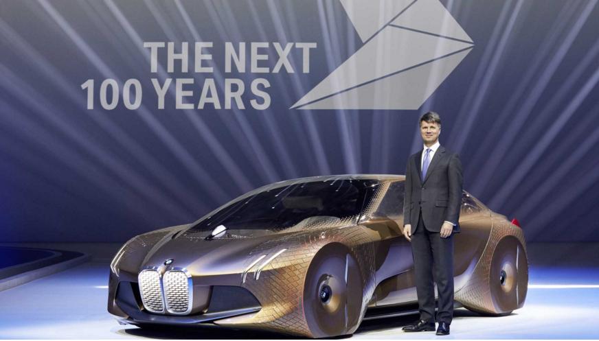 BMW Vision vehicle