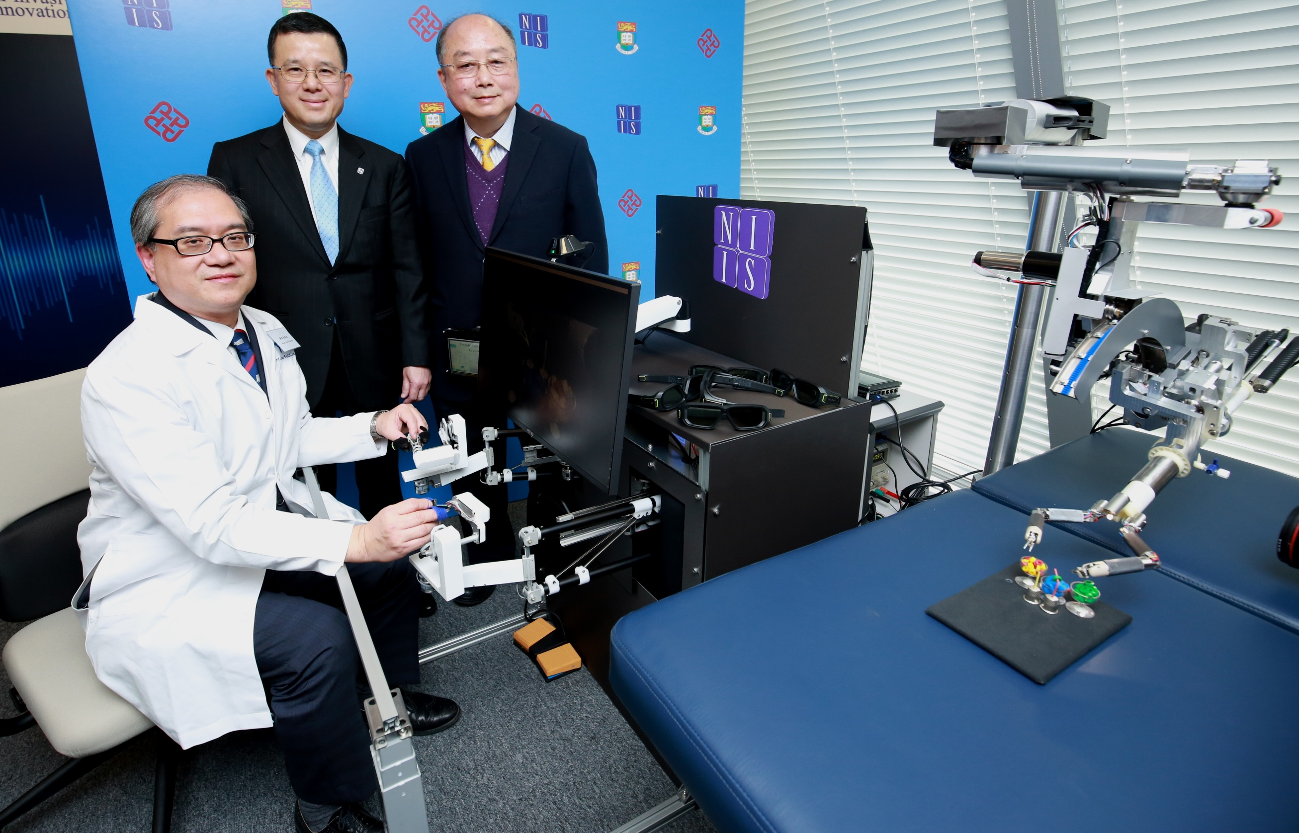 Hong Kong University claims world's first internally motorized minimally invasive surgical robotic system
