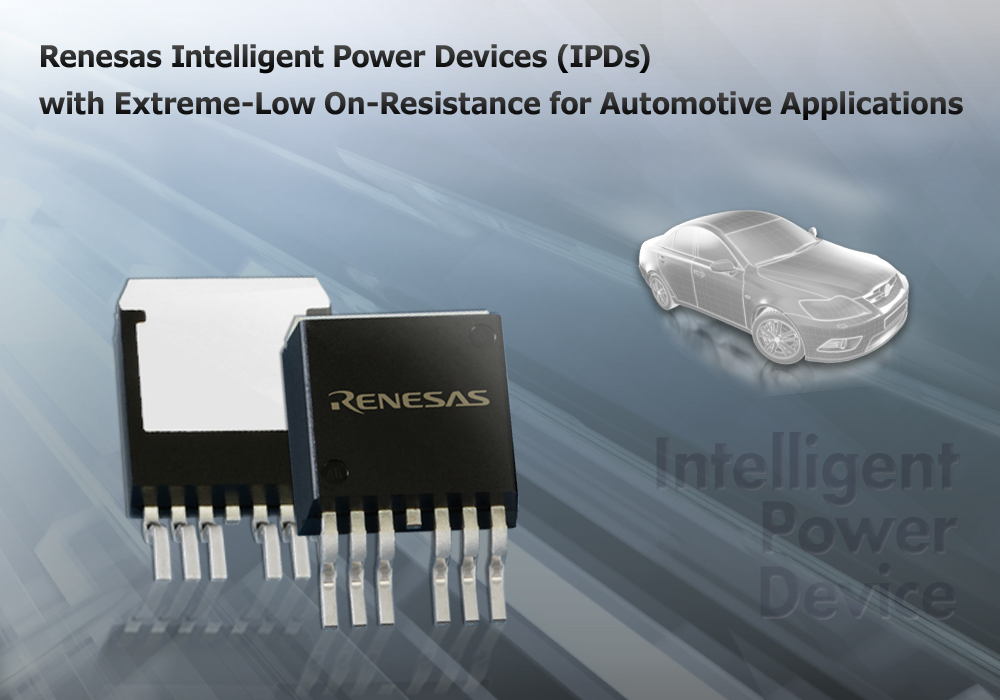 Renesas launches new microcontrollers for automotive applications