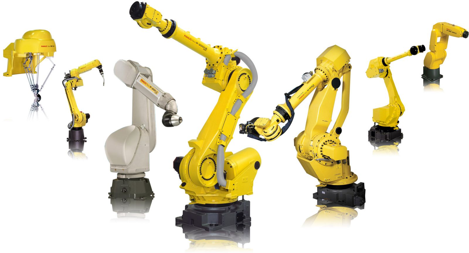 Top 14 industrial robot companies and how many robots they