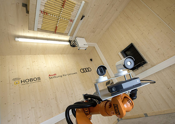 Audi opens research facility to study bees with a robot