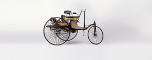 world's first motor-powered vehicle, invented by Carl Benz in 1879