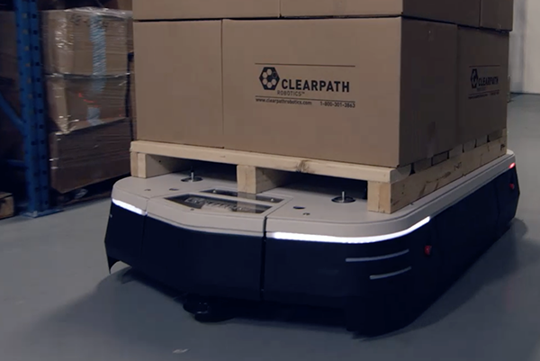 The Clearpath Otto logistics robot