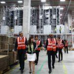 DHL opens supersize logistics centre featuring 130 robotic shuttles