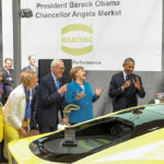 Hannover Messe: Harting receives Obama and Merkel visit