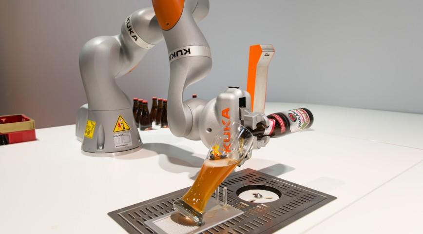 hannover messe kuka robot