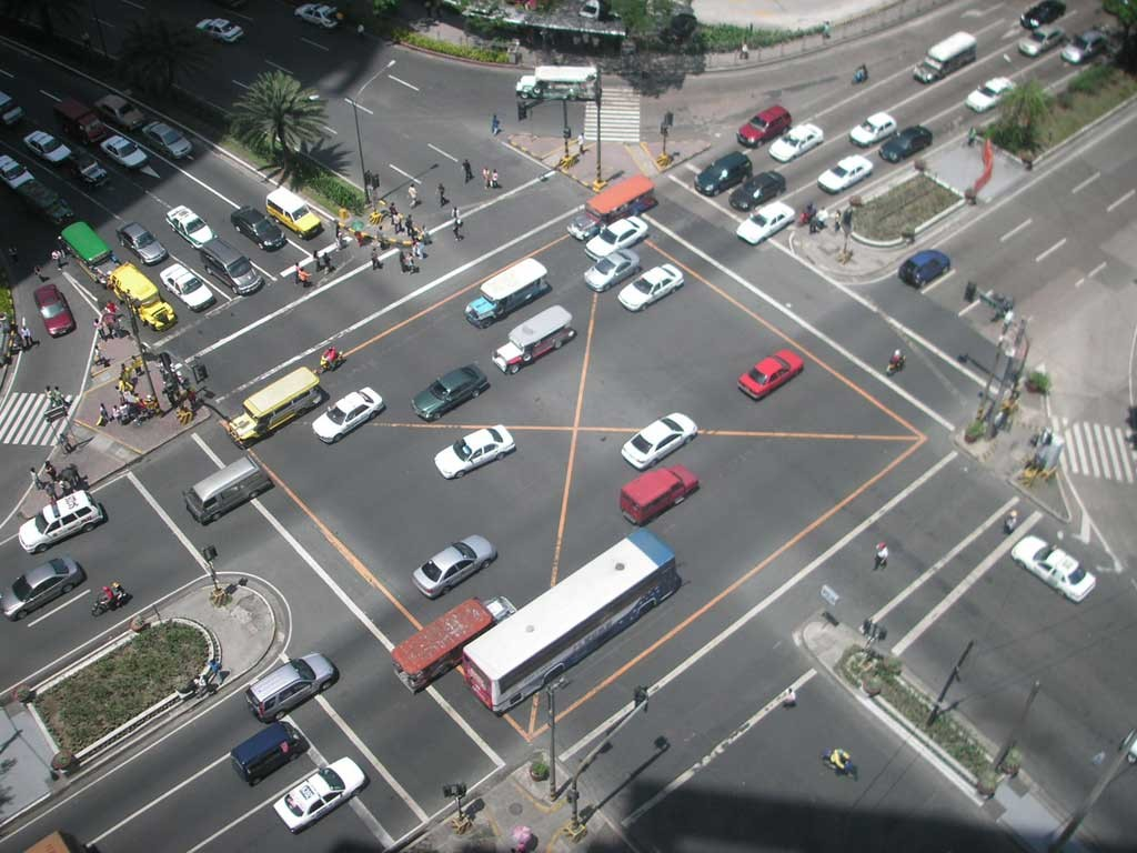 intelligent transport systems - Makati_intersection
